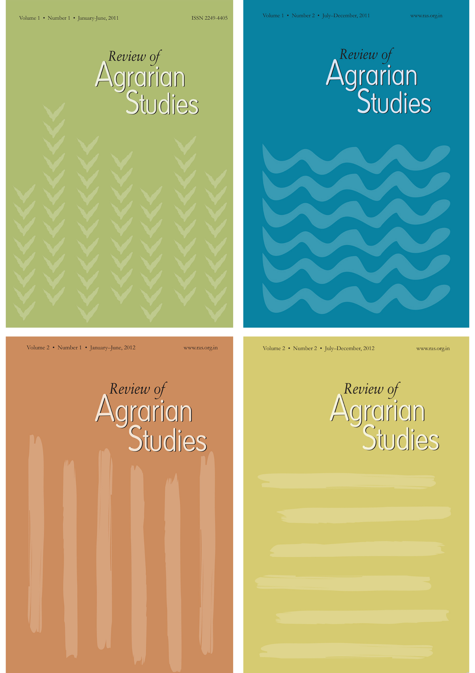 Review of Agrarian Studies sale extended to 15 May...